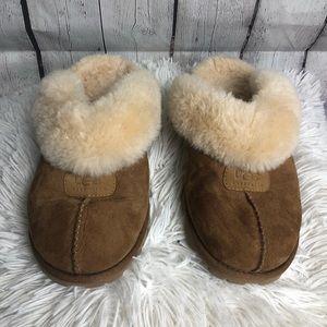 UGG croquette threaded slipper slide ons